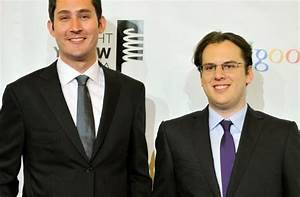 Instagram Co-Founders, Kevin Systrom And Mike Krieger ...