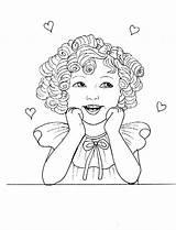 Temple Coloring Shirley Clipart Zone Kid Colorare Popular Clip Az sketch template