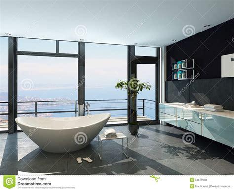 modern bathroom interior design ultramodern contemporary design bathroom interior with sea Ultra