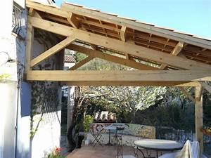 Construire Une Pergola En Bois : construire une pergola couverte formidable construire une ~ Premium-room.com Idées de Décoration