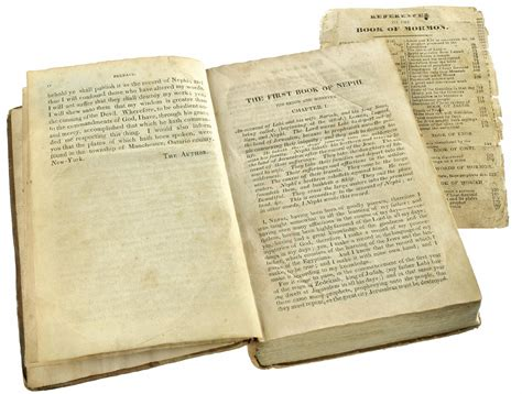 History Channel 'pawn Stars' Appraise Rare Book Of Mormon