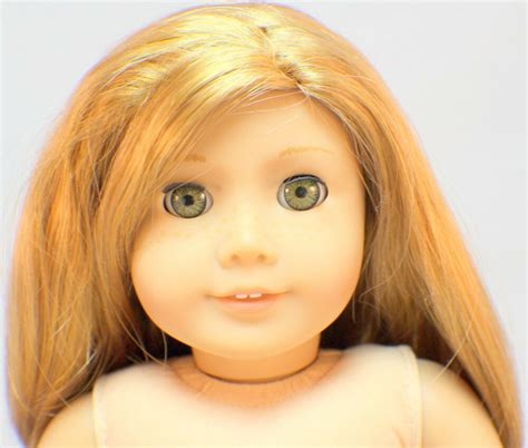 American Girl Mia Doll Long Strawberry Blond Hair With