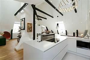 Schweden Style Einrichtung : schwedisches loft apartment atemberaubende aussicht auf ~ Lizthompson.info Haus und Dekorationen