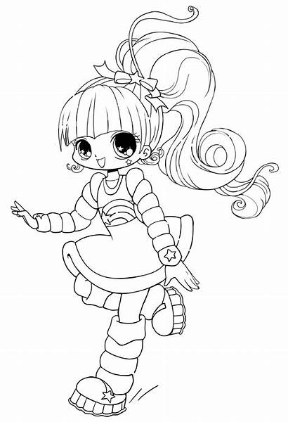 Coloring Pages Chibi Printable