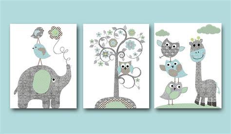 baby boy nursery print nursery wall wall decor