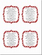 Delightful Order: Free Printable Candy Cane Poem | Candy ...