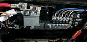 Mk6 Mk7 Ford Transit Under Seat Fuse Box   Twin Battery Relay