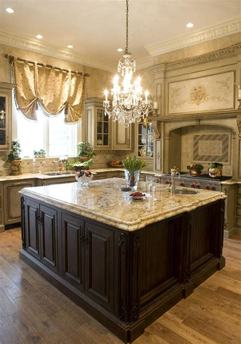 kitchen with islands custom kitchen island provides key focal point habersham home lifestyle custom furniture