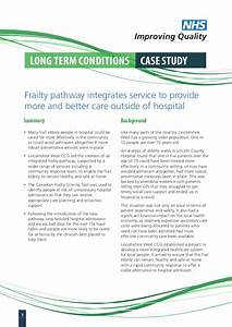 Case study: frailty pathway integrates service to provide ...