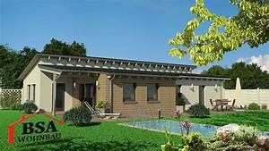 Bungalow Mit Pultdach : gro z giger moderner bungalow mit pultdach bsa wohnbau ~ Lizthompson.info Haus und Dekorationen