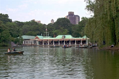 Canoes In Central Park by Loeb Boathouse Literary Worlds