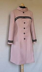manteau veste laine vieux rose With robes habillees