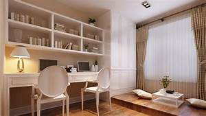 korean style study room design picture ideas With study room decoration in home