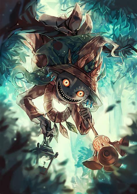 Zelda Twilight Princess Wallpaper Skull Kid By Anocurry On Deviantart