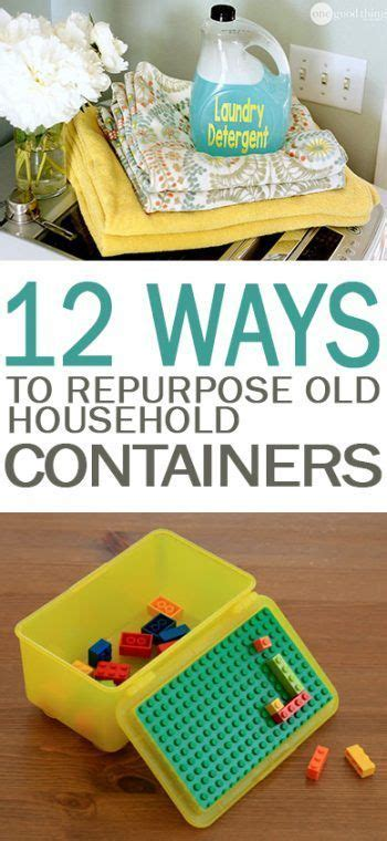 reuse  household containers   reuse