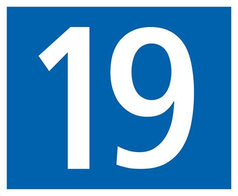 Hauptstrasse Nummer 19.svg