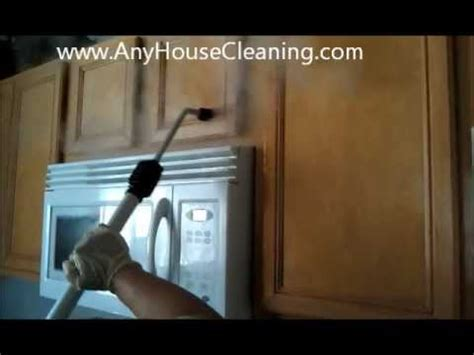 Vapor Steam Greasy Kitchen Cabinets ! Sanitize all your