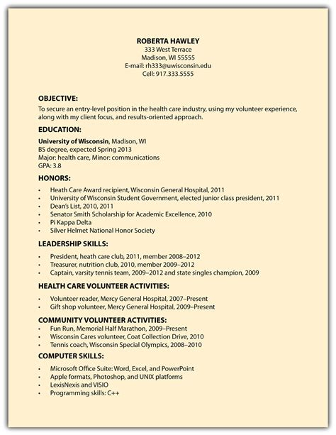Objective Statements For A General Resume by Exles Of Resumes Exle Resume Format 002 Choose