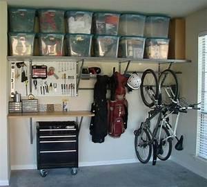 22 idees et astuces pour avoir un garage bien organise With idee de rangement pour garage
