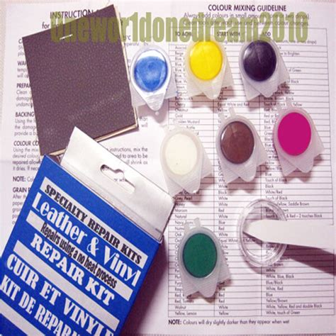 heat professional leather vinyl repair kit fix sofa