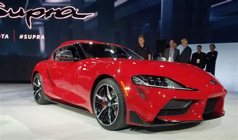 2019 Detroit Auto Show: 2020 Toyota Supra | The Daily Drive | Consumer Guide® The Daily Drive ...