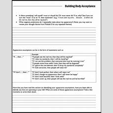 Between Sessions Mental Health Worksheets For Adults  Cognitive Therapy Worksheeets Therapy