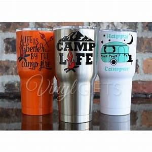 202 best cricut tumbler glass ideas images on pinterest for Kitchen colors with white cabinets with monogram stickers for cups