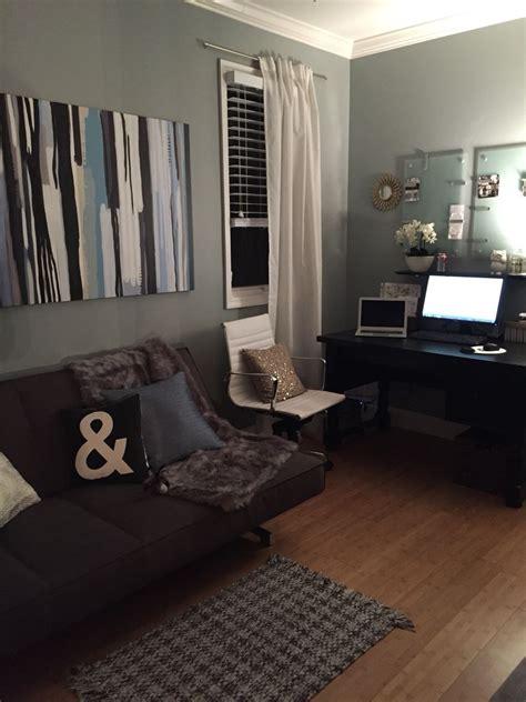 home office  futon cb potterybarn target lamara