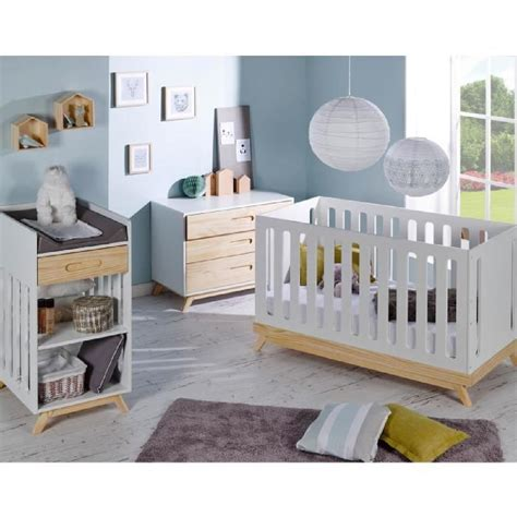 chambre bébé com chambre bebe complete scandinave lit evolutif 70x140