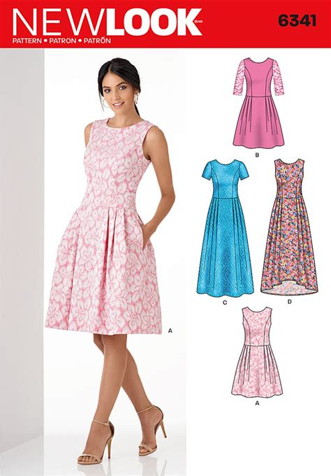 dresses for misses look 6341 misses 39 dress in three lengths