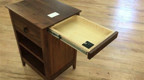 qline secret agent nightstand  hidden drawers youtube