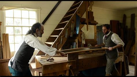 resawing wide boards  colonial williamsburg hay cabinet