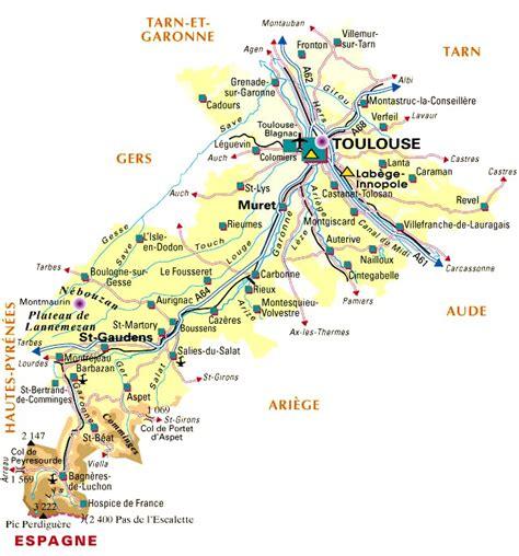 Carte De Le Gaulois 2010 Complete by Carte D 233 Partement Haute Garonne D 233 Partement 31 Codes