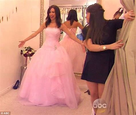 Kaitlyn Bristowe tries on wedding dresses with Jimmy ...