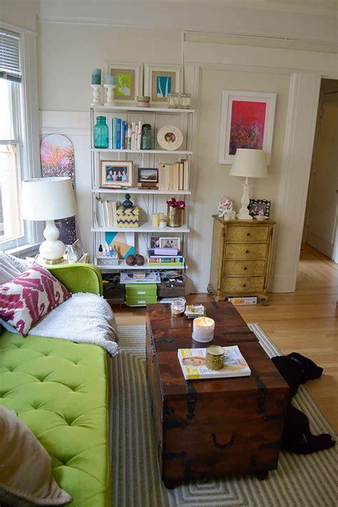 apartment refresh rearrange  living room