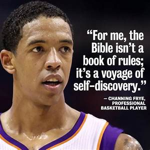 Channing Frye - Phoenix Suns I thought his was an ...