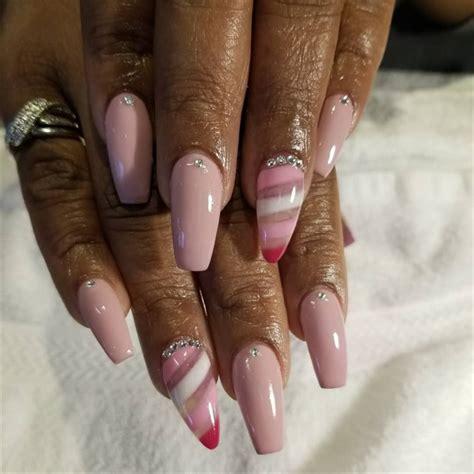 day  candy stripe nail art nails magazine