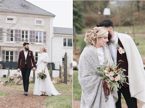 shooting d inspiration mariage d hiver au naturel