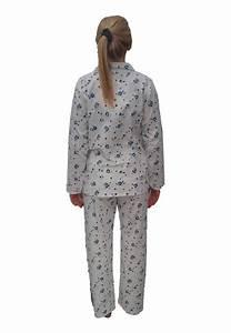 pyjama blanc fleurs bleues patricia lingerie boutique With robe de cocktail combiné avec bracelet cycle sommeil