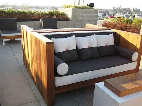 outdoor sofa holz erstaunlich holz outdoor sofa mit sympathischen outdoor