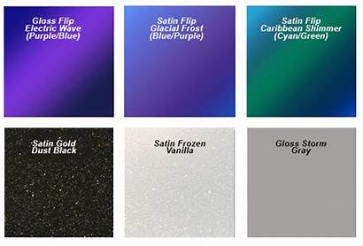 3m Wrap Vinyl Colors 1080