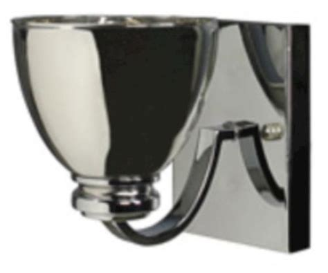 patriot lighting 174 1 light 5 quot chrome wall sconce or
