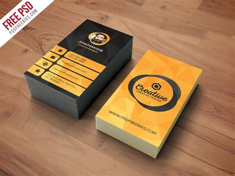 vertical business card template photoshop 175 best images about psd print template on