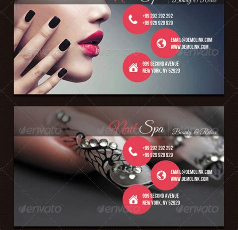 spa business card templates  premium psd ai