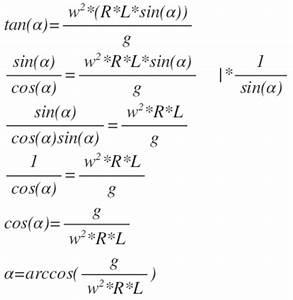 Tan Alpha Berechnen : tan w 2 r l sin g gleichung nach winkel alpha aufl sen mathelounge ~ Themetempest.com Abrechnung