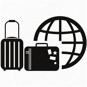 Bag, baggage, earth, luggage, suitcase, travel, traveling ...