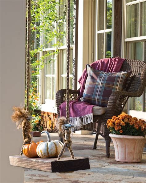 32303 waterproof cushions for outdoor furniture enticing pumpkins on parade a chair made cozy with a woolen