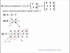 Determinante Berechnen 2x2 : revis o exerc cio 22 determinante 1x1 2x2 3x3 youtube ~ Themetempest.com Abrechnung