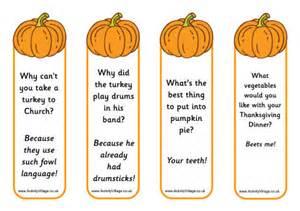 pumpkin jokes bookmarks
