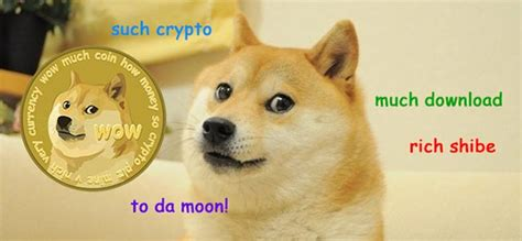 Dogecoin Meme - dogecoin takes a meme and makes it into a digital currency